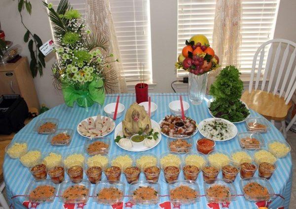 Mâm cúng lễ thôi nôi cho bé mẹ có thể tham khảo để chuẩn bị cho ngày sinh nhật đầu đời của con