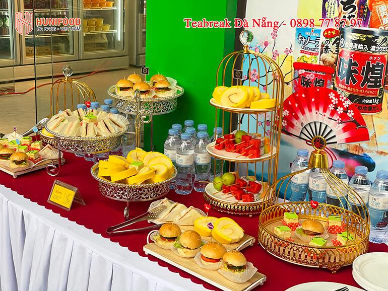 Tiệc TeaBreak Đà Nẵng giá rẻ uy tín