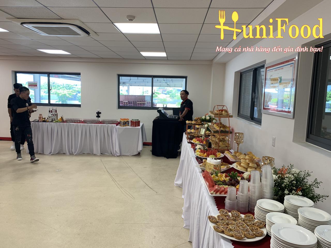 Setup Tiệc Teabreak Đà Nẵng của HuniFood
