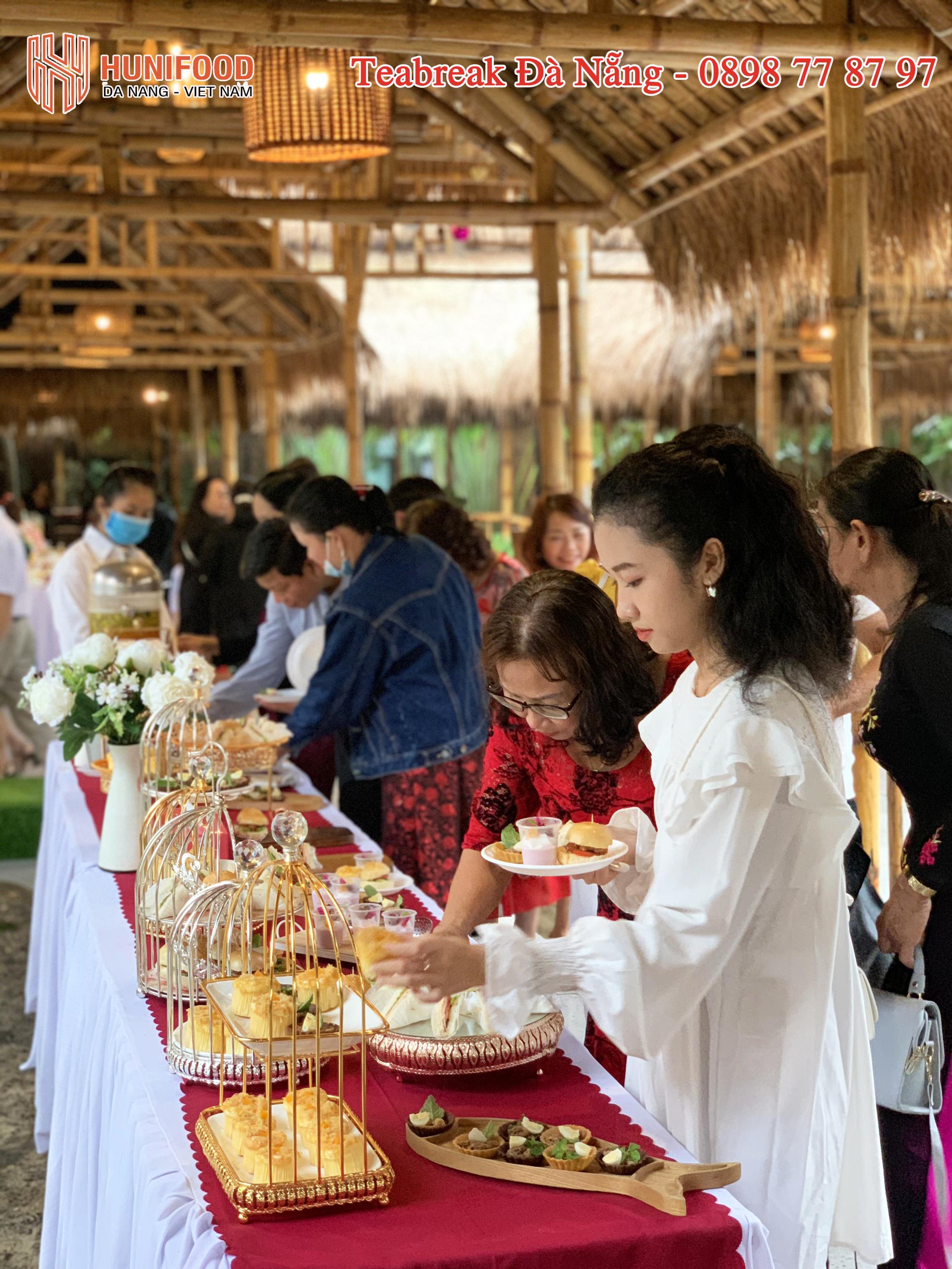 Teabreak Đà Nẵng Giá Rẻ Setup Tận Nơi