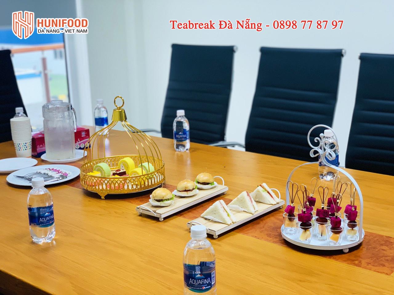 Tiệc Teabreak Đà Nẵng buổi họp Công Ty TNHH MTV SMC Đà Nẵng