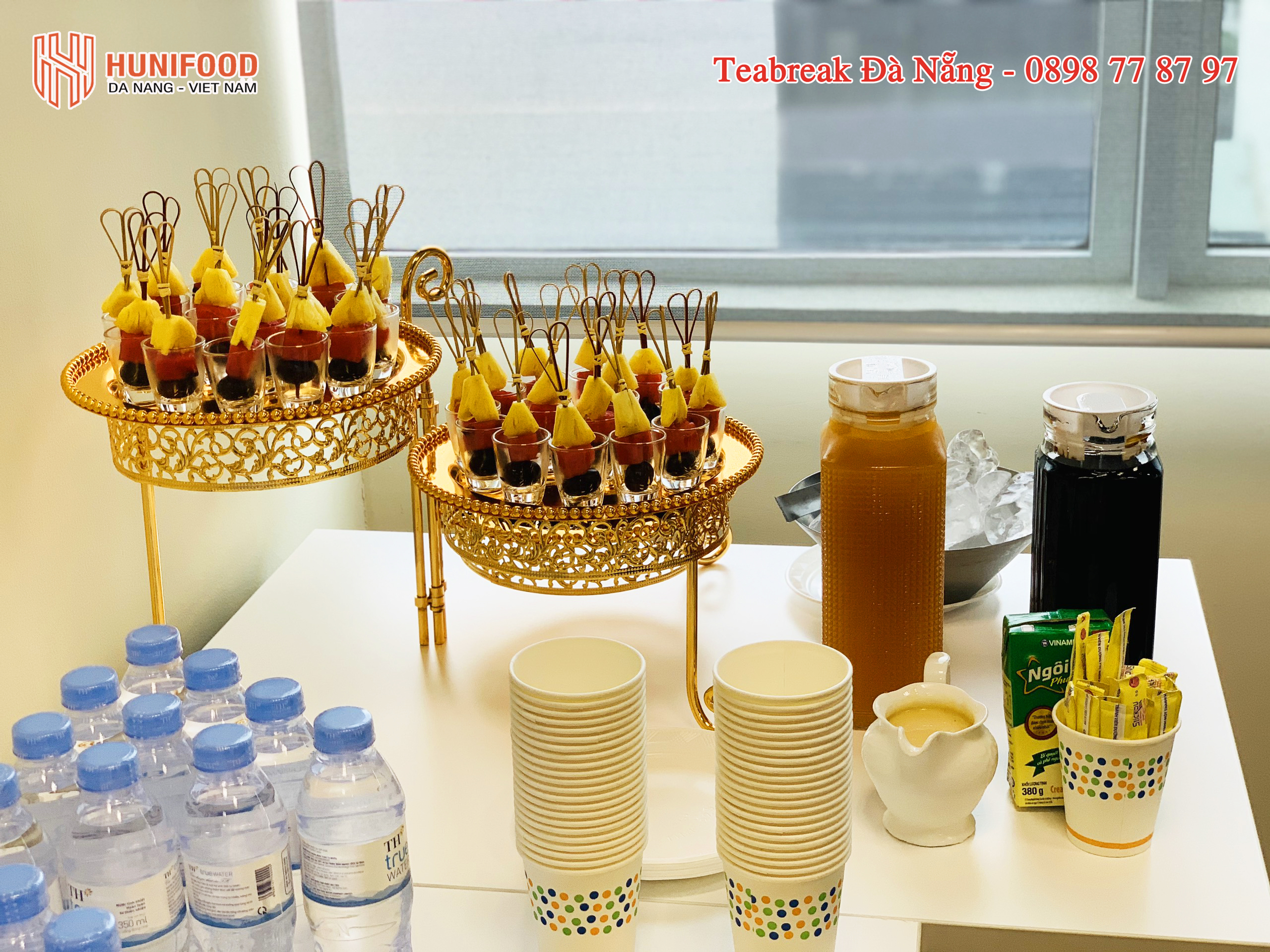 teabreak buổi họp