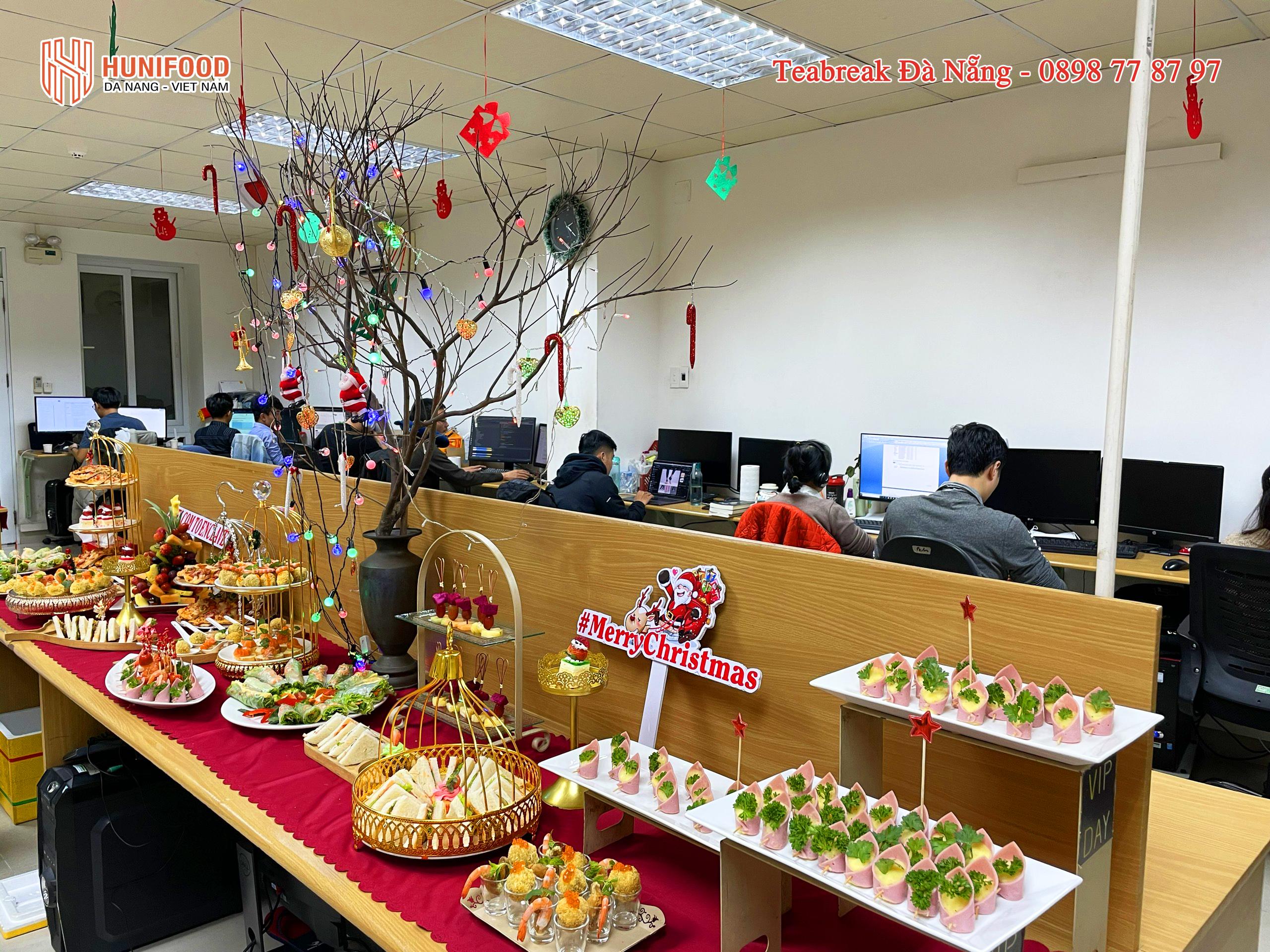 Tiệc Finger Food mùa giáng sinh tại Đà Nẵng