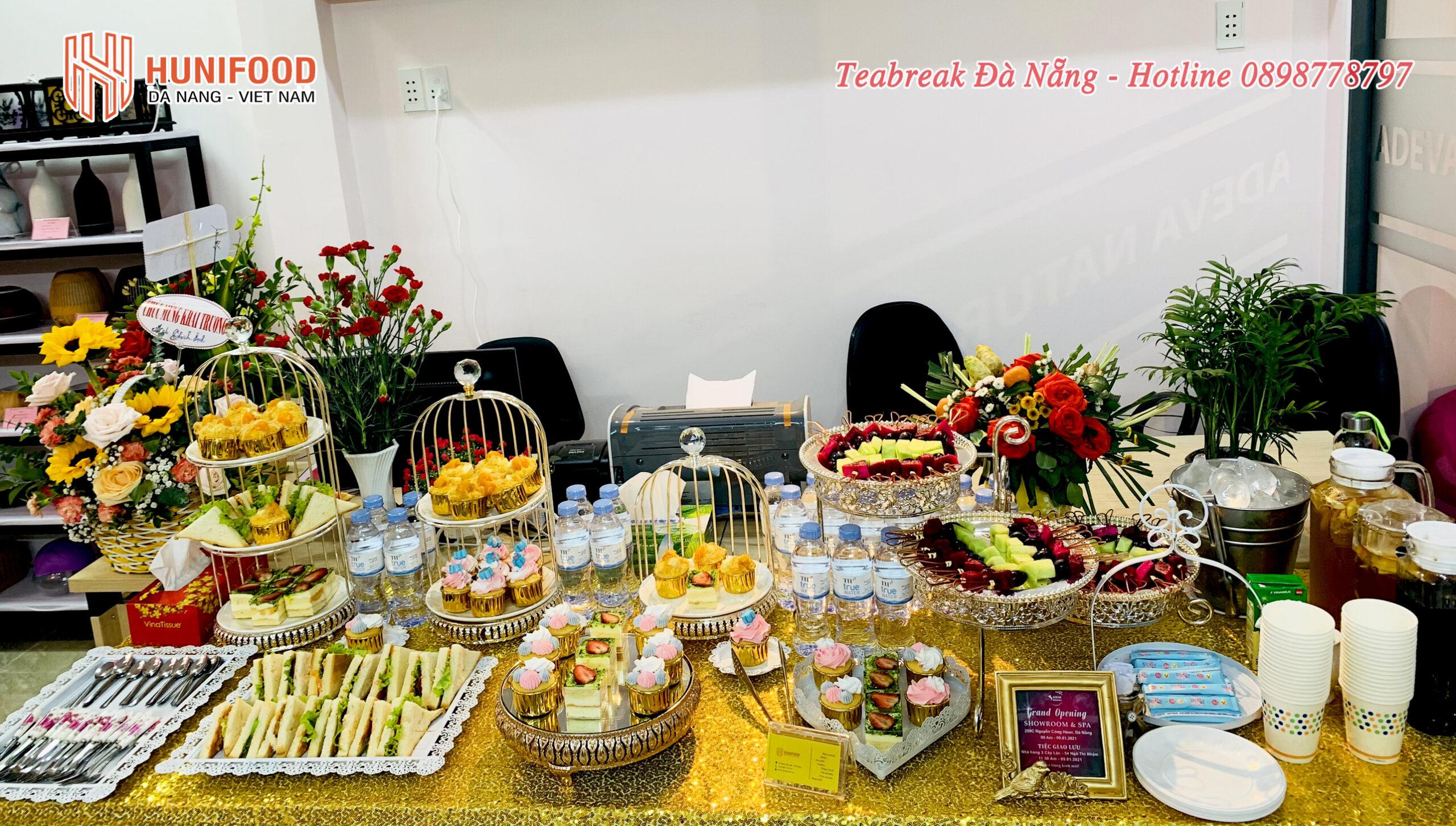 Grend Opening Tiệc TEABREAK Khai trương thứ 3 trong buổi sáng 09/01/2021 ADEVA NATURALS