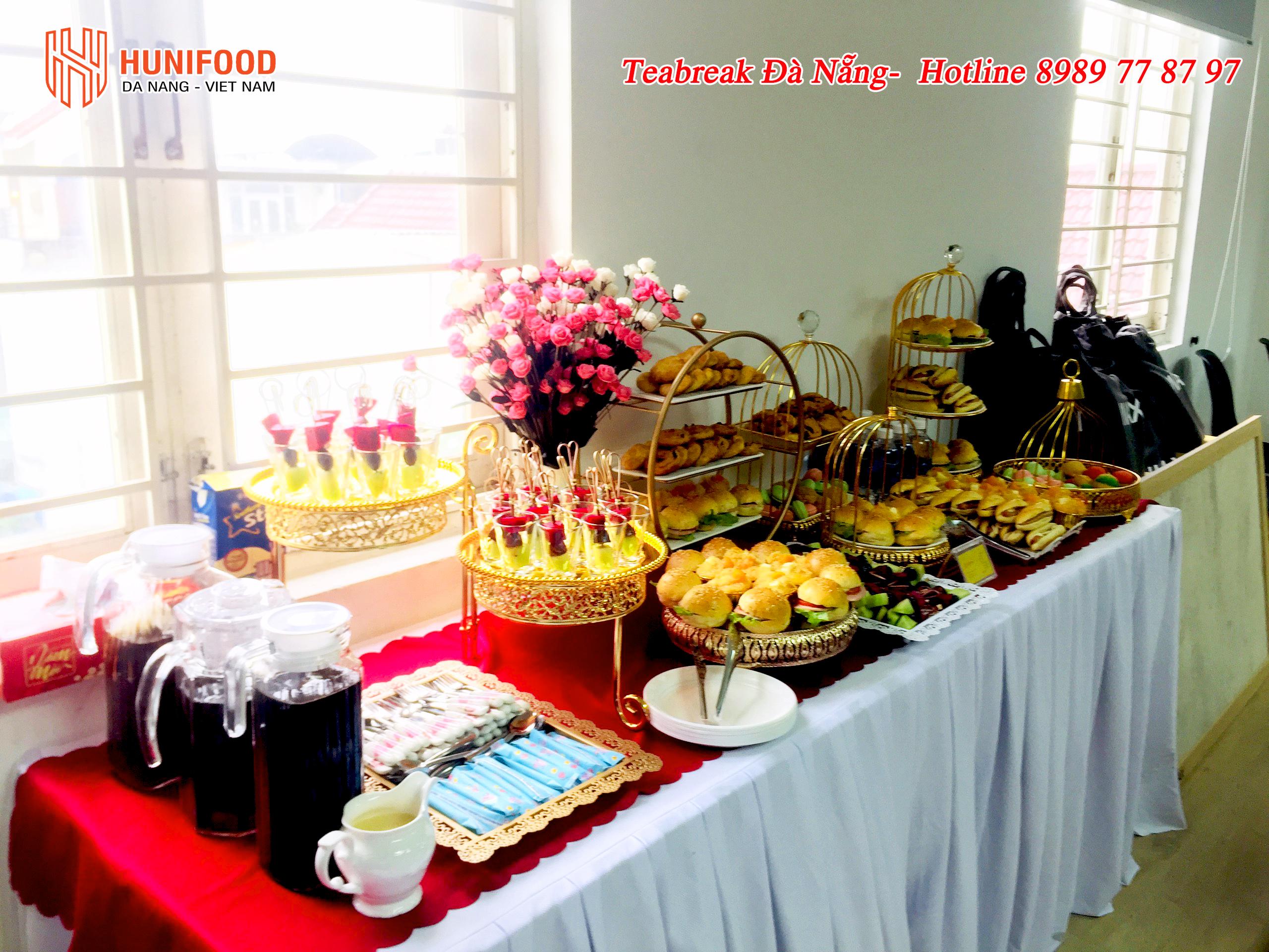 Tiệc Teabreak tại Đà Nẵng