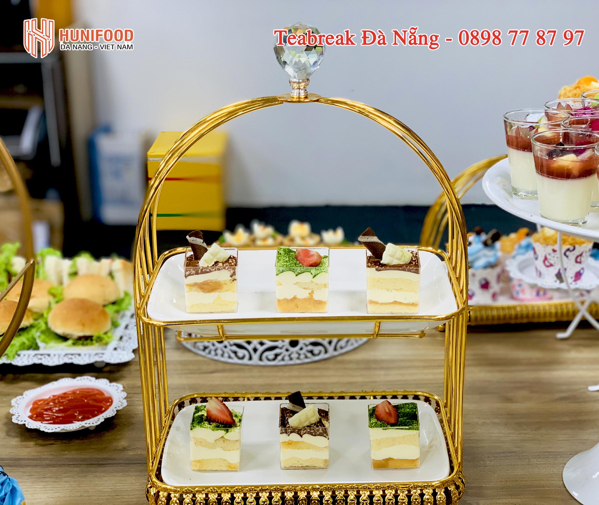Sự đổi mới Tiệc Trà Đà Nẵng trong khâu trang trí và loại hình bánh