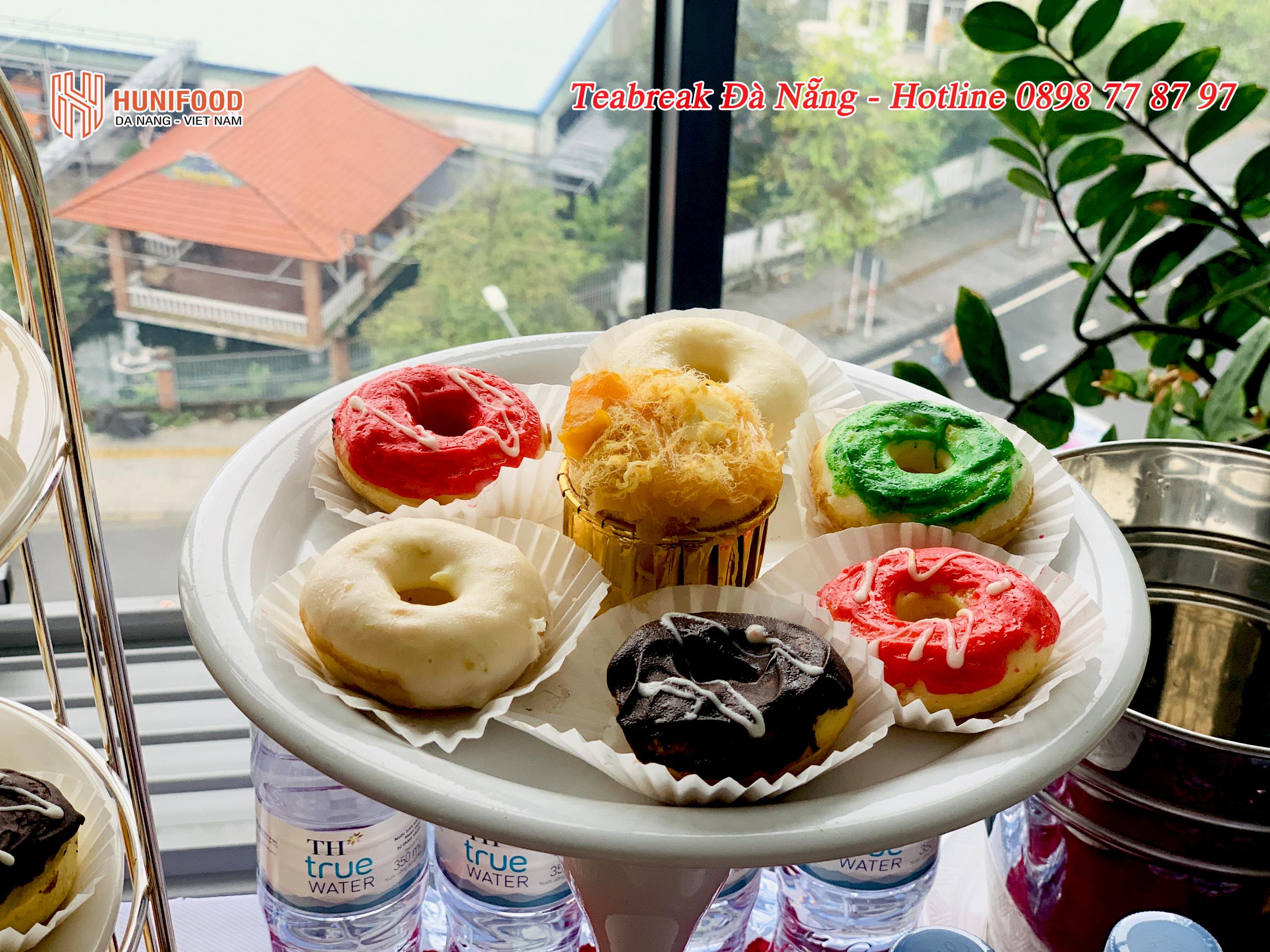 Tiệc Teabreak Công Ty Bảo Hiểm Cathay tầng 9 tòa nhà Đường Việt Đà Nẵng