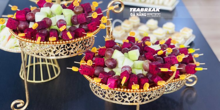 Teabreak cùng sự kiện khách hàng của AIA Exchenge Đà Nẵng Hiton Office, 50 Bạch Đằng Hải Châu - TP Đà Nẵng.